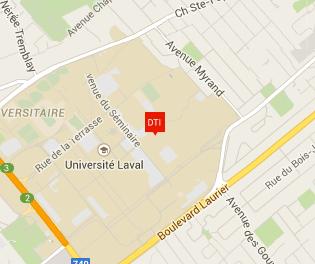 Carte Google Maps Pavillon Louis-Jacques-Casault